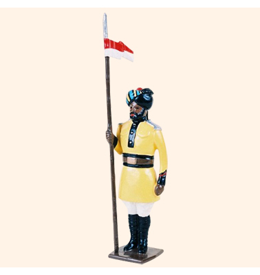 007a 2 Toy Soldier Lancer at attention Kit