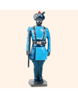 046 2 Toy Soldier Sergeant at attention Kit