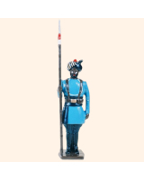 0046 3 Toy Soldier Lancer at attention Kit