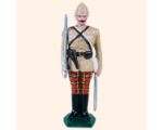 053 1 Toy Soldier Officer at attention British Army 1879-1900 Kit