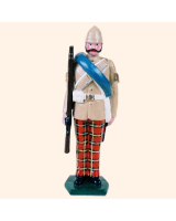 0053 2 Toy Soldier Sergeant at attention British Army 1879-1900 Kit