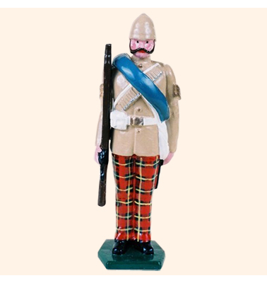 053 2 Toy Soldier Sergeant at attention British Army 1879-1900 Kit