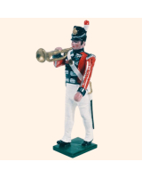 055 04 Toy Soldier Bandsman with Trumpet Kit