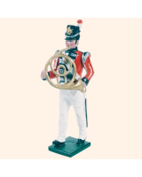 055 06 Toy Soldier Bandsman with French Horn Kit
