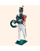 0055 07 Toy Soldier Bandsman with Serpent Kit