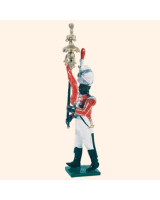 0055 10 Toy Soldier Bandsman with Jingling Johnny Kit