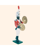 0055 12 Toy Soldier Bandsman with Cymbals Kit