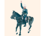 059 1 Toy Soldier Mounted Officer in full dress Kit
