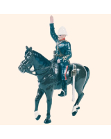 0059 1 Toy Soldier Mounted Officer in full dress Kit