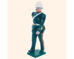 059 2 Toy Soldier Gunner marching in full dress Kit