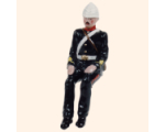 059 3 Toy Soldier Gunner seated in full dress Kit