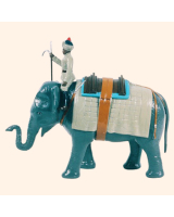 059 LE Toy Soldier Lead Elephant and Mahout Kit