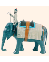 059 SE Toy Soldier Shaft Elephant and Mahout Kit