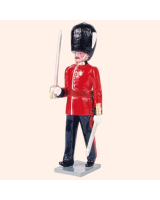 0063 1 Toy Soldier Officer Grenadier Guards Kit