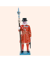0061 2 Toy Soldier Beefeater Yeoman Warders Kit