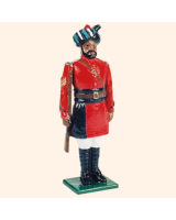 066 2 Toy Soldier Sergeant at attention Kit
