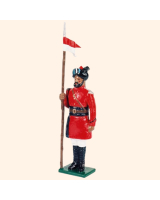 066 4 Toy Soldier Lancer at attention Kit