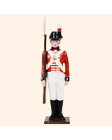 0075 4 Toy Soldier Marine at attention Kit