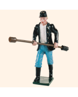 0078 4 Toy Soldier Gunner with rammer Kit