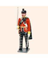 087 1 Toy Soldier Officer marching Kit