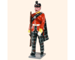 087 2 Toy Soldier Sergeant marching Kit
