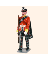 0087 2 Toy Soldier Sergeant marching Kit