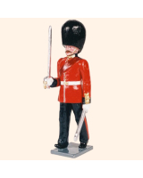0088 1 Toy Soldier Officer marching Kit