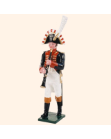 0089 10 Toy Soldier Bandsman with Clarinet Kit