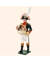 0089 12 Toy Soldier Bandsman with French Horn Kit