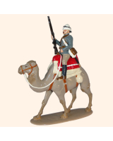 0095 2 Toy Soldier Private on Camel Kit
