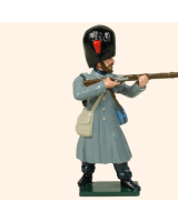 0105 3 Toy Soldier Private firing  Coldstream Guards Kit