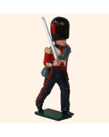 0111 1 Toy Soldier Officer Marching Coldstream Guards Kit