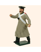 0117 1 Toy Soldier N C O Russian Artillery Kit