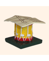 0201 6 Toy Soldier Drum with map on top Kit
