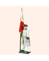 0606 1 Toy Soldier Officer with Colour French Infantry Kit