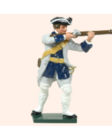 0607 2 Toy Soldier Private Firing French Infantry Kit