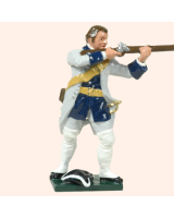 0607 3 Toy Soldier Private firing bare headed French Infantry Kit