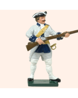 0607 4 Toy Soldier Private at the Ready French Infantry Kit