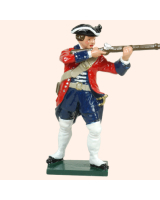 0608 2 Toy Soldier Private firing Swiss Regiment Karrer Kit