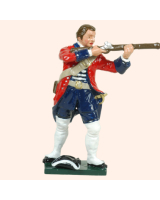 0608 3 Toy Soldier Private firing bare headed Swiss Regiment Karrer Kit