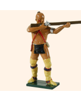 0609 2 Toy Soldier Warrior Standing firing British Allies Kit