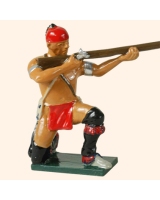 0610 3 Toy Soldier Warrior kneeling firing French Allies Kit