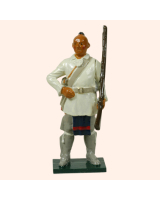 0611 2 Toy Soldier Stockbridge Indian Rogers Rangers Kit
