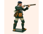 611 3 Toy Soldier Private Firing Rogers Rangers Kit