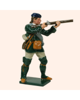 0611 3 Toy Soldier Private Firing Rogers Rangers Kit