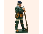 611 4 Toy Soldier Private Holding Gun Rogers Rangers Kit