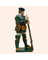 0611 4 Toy Soldier Private Holding Gun Rogers Rangers Kit