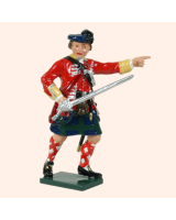 0613 1 Toy Soldier Officer 42nd Highland Regiment of Foot Kit