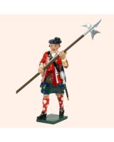 0613 2 Toy Soldier Sergeant 42nd Highland Regiment of Foot Kit