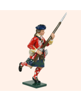 0613 4 Toy Soldier Running 42nd Highland Regiment of Foot Kit